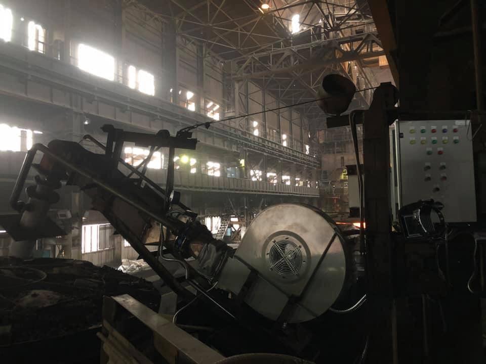 ОАО «Запорожсталь» выбирает работу специалистов «Энергия Украины»